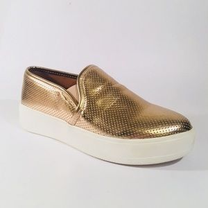 Steve Madden Gracy Rose Gold Sneaker Slip-On
